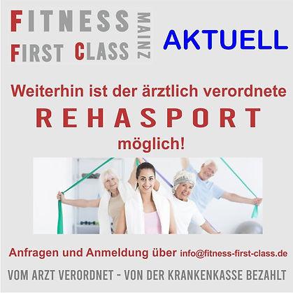 Rehasport bei Fitness First Class in Mainz Weisenau