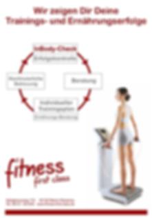 Der InBodyCheck ist eine hochpräzise Körperanalyse undbietet die Möglichkeit, die physiologischen Veränderungen imKörper wie Muskelaufbau und Fettabbau im Zusammenhang mit Training und Ernährung darzustellen und zu verstehen.