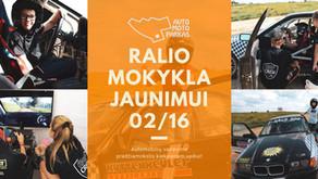 RALIO MOKYKLA JAUNIMUI 2020 02 16 (sekmadienis)
