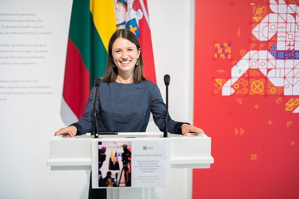 """""""Bring Together Lithuania"""" programos vadovė Kamilė Naraitė"""