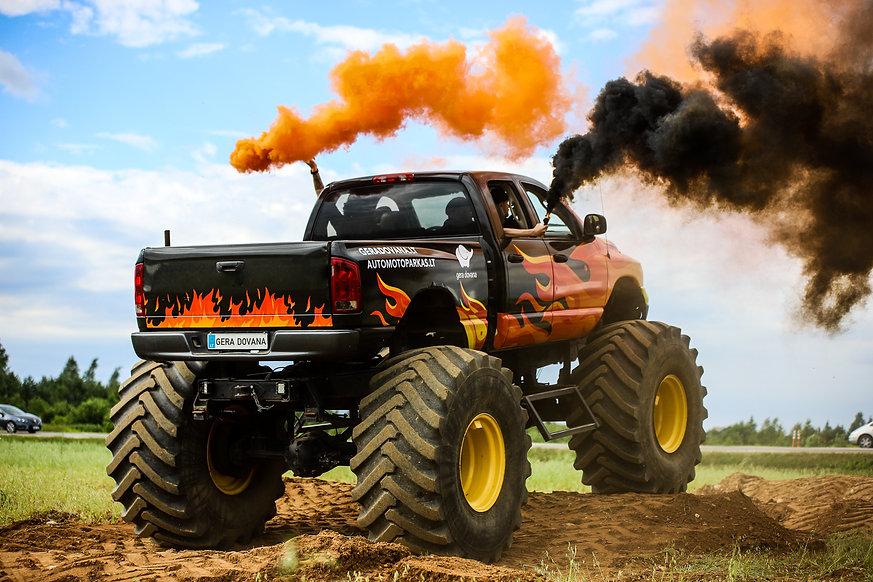 Monster Truck Auto Moto Parkas