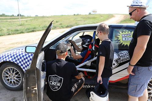 Vairavimo pamoka vaikui