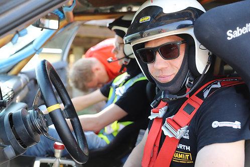 Sportinio vairavimo pamoka (2 val.)