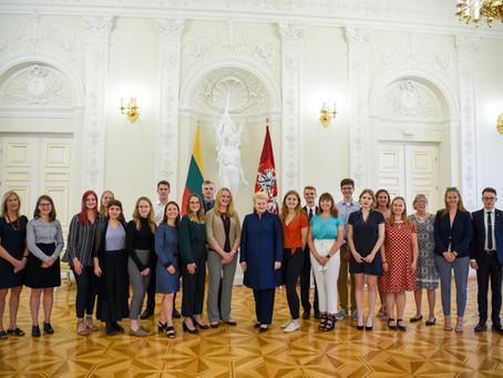 Pasaulio lietuvių jaunimas – laukiamas Lietuvoje
