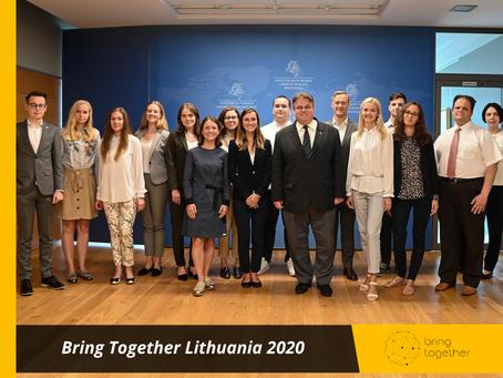 Susitikimas su Užsienio reikalų ministru Linu Linkevičiumi