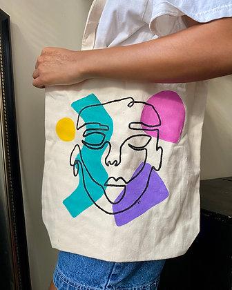 80s Inspired Tote Bag