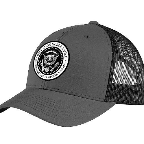 Snapback NASAMS Curved Bill Hat w/ PATCH
