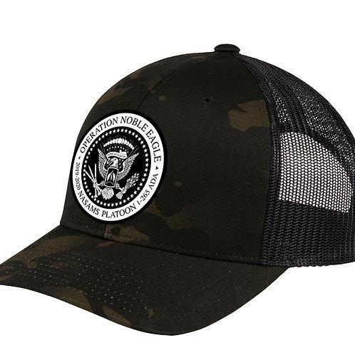 BLK MULTICAM Snapback NASAMS Curved Bill Hat w/ PATCH