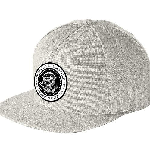 Snapback NASAMS Flat Bill Hat w/ PATCH
