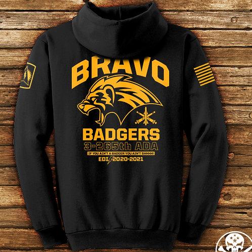 Bravo Hoodie - BLACK