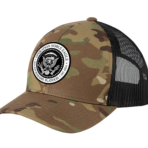 MULTICAM Snapback NASAMS Curved Bill Hat w/ PATCH