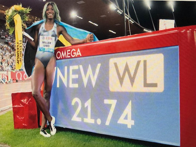 Breaking | Shaunae Sets New National Record; Captures the Diamond again...