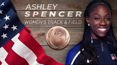 Spencer Rallies to Win Bronze Medal at Olympics...