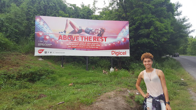 A Special Homecoming Surprise from DigicelSt.Lucia for Jeannelle Scheper, St. Lucian High Jumper....