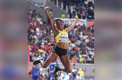 Porter Battles Through Pain Barrier to Make Top Eight in Long Jump...