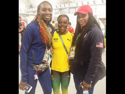 VCB Thrilled After Meeting Tennis Stars Venus And Serena #Rio2016...