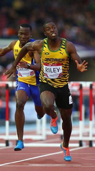 Andrew Riley - 110m Hurdler