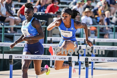 Harrison Dashing On The Flat To Boost Her Hurdling...