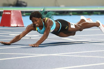 SHAUNAE MILLER-UIBO'S STORY BEHIND THE PICTURE...