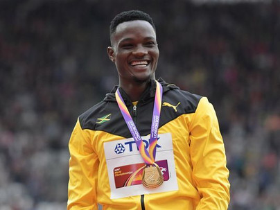 Omar McLeod, the world's best hurdler, challenges the top sprinters at Millrose Games...