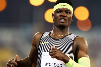MCLEOD NOW LOOKING FOR FIRST SUB-13 OF THE YEAR IN SHANGHAI...