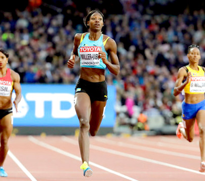 Shaunae returns to SAC... Bahamian track star excited to be back in The Bahamas; makes school runs