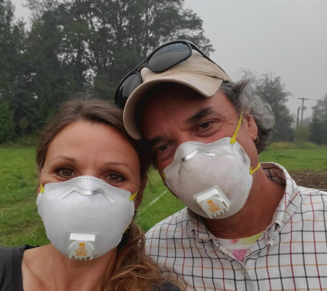 Smoky August days