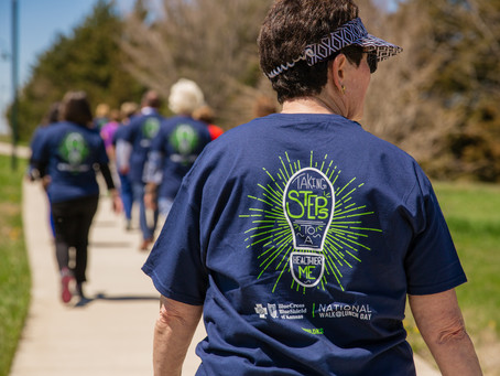 LiveWell participates in National Walk @ Lunch Day