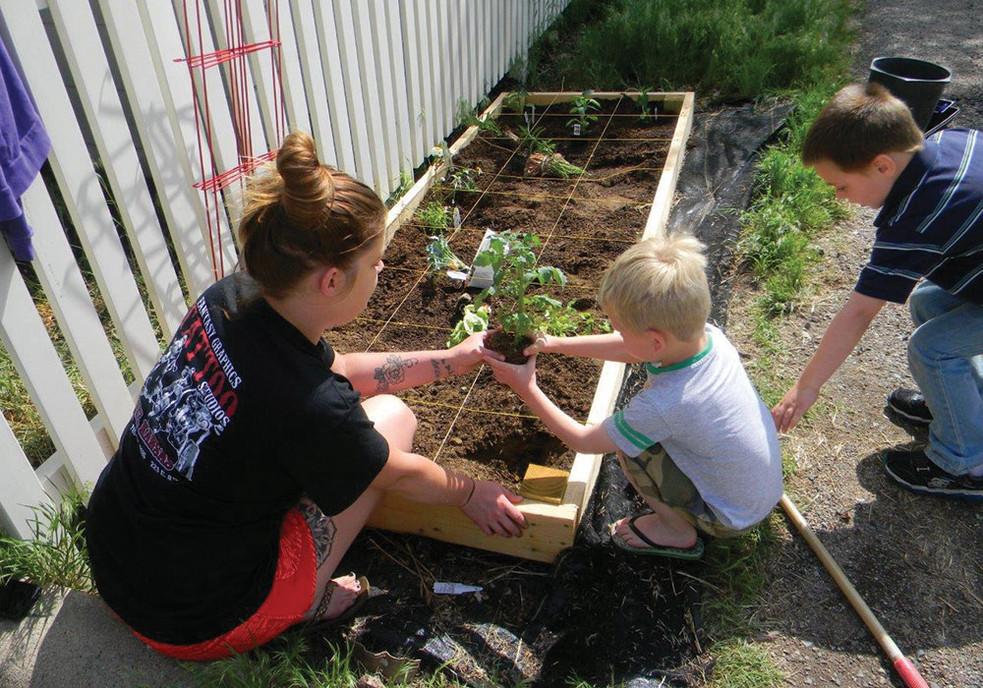 Jacy Olsen Community Garden Thomas County Coalition