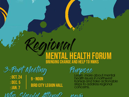 Northwest Kansas experts help those with mental health problems