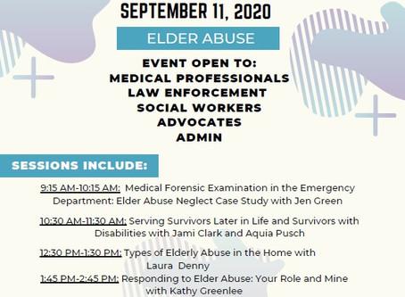 Virtual elder abuse summit to be held, register now