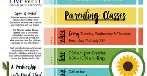 """Parenting Classes: """"Strong Families, Strong Leaders"""""""