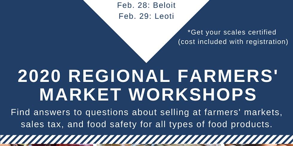Farmers' Market Workshop