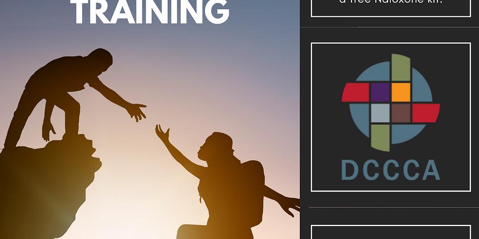 FREE Naloxone Training for General Audiences