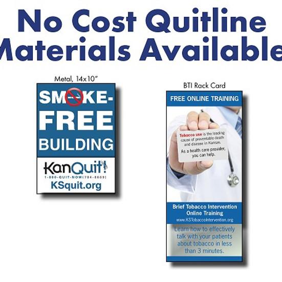 Order FREE Kansas Tobacco Quitline Materials