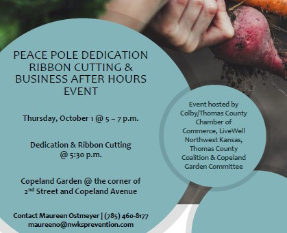 Join us at the garden, a fun event