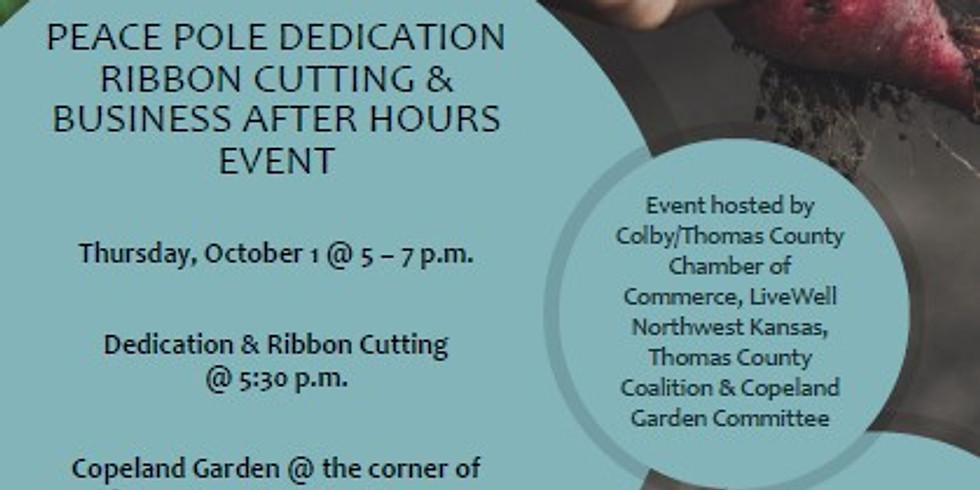 Copeland Garden Ribbon Cutting