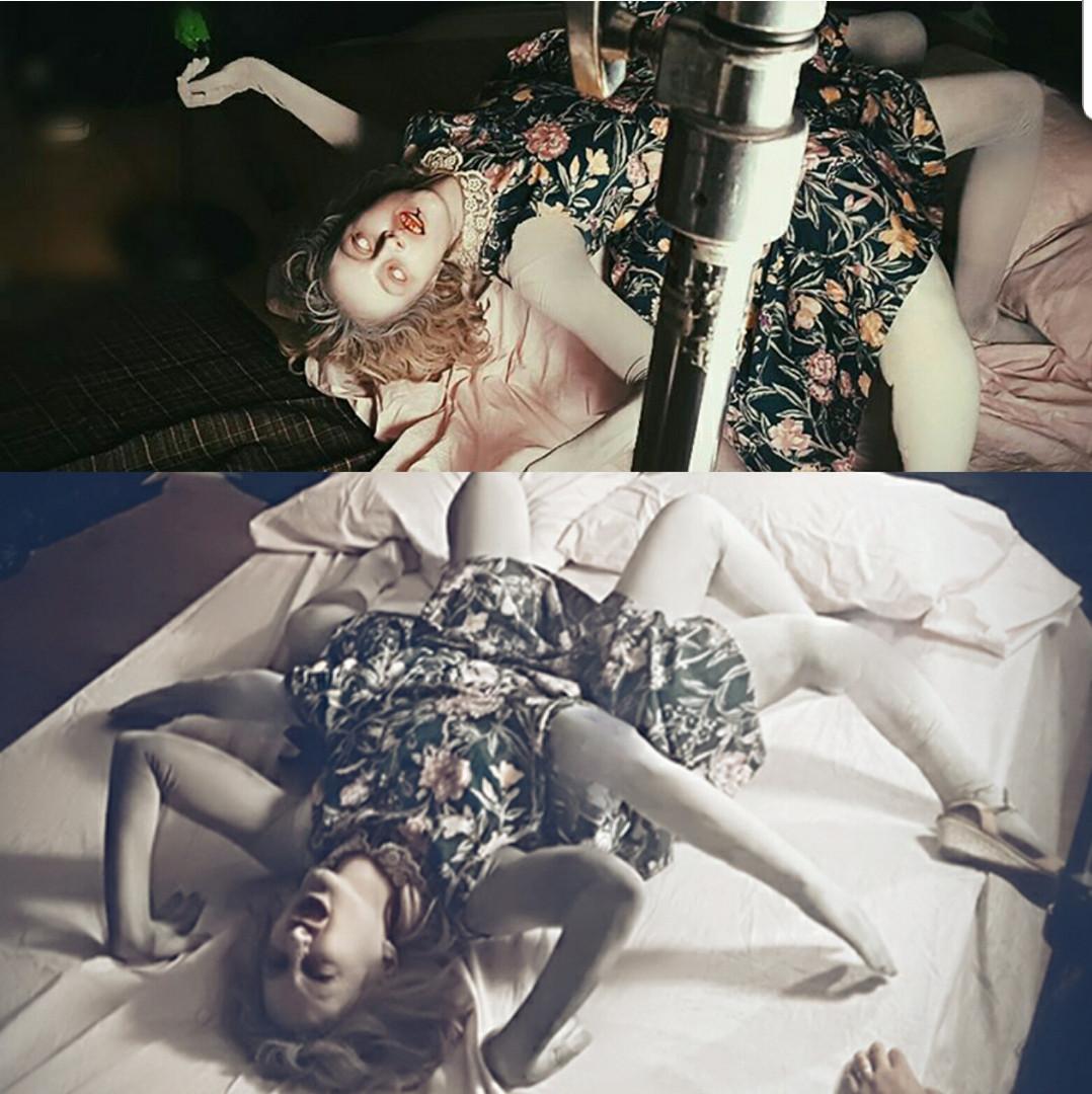 torso prosthetic leg attachment makeup