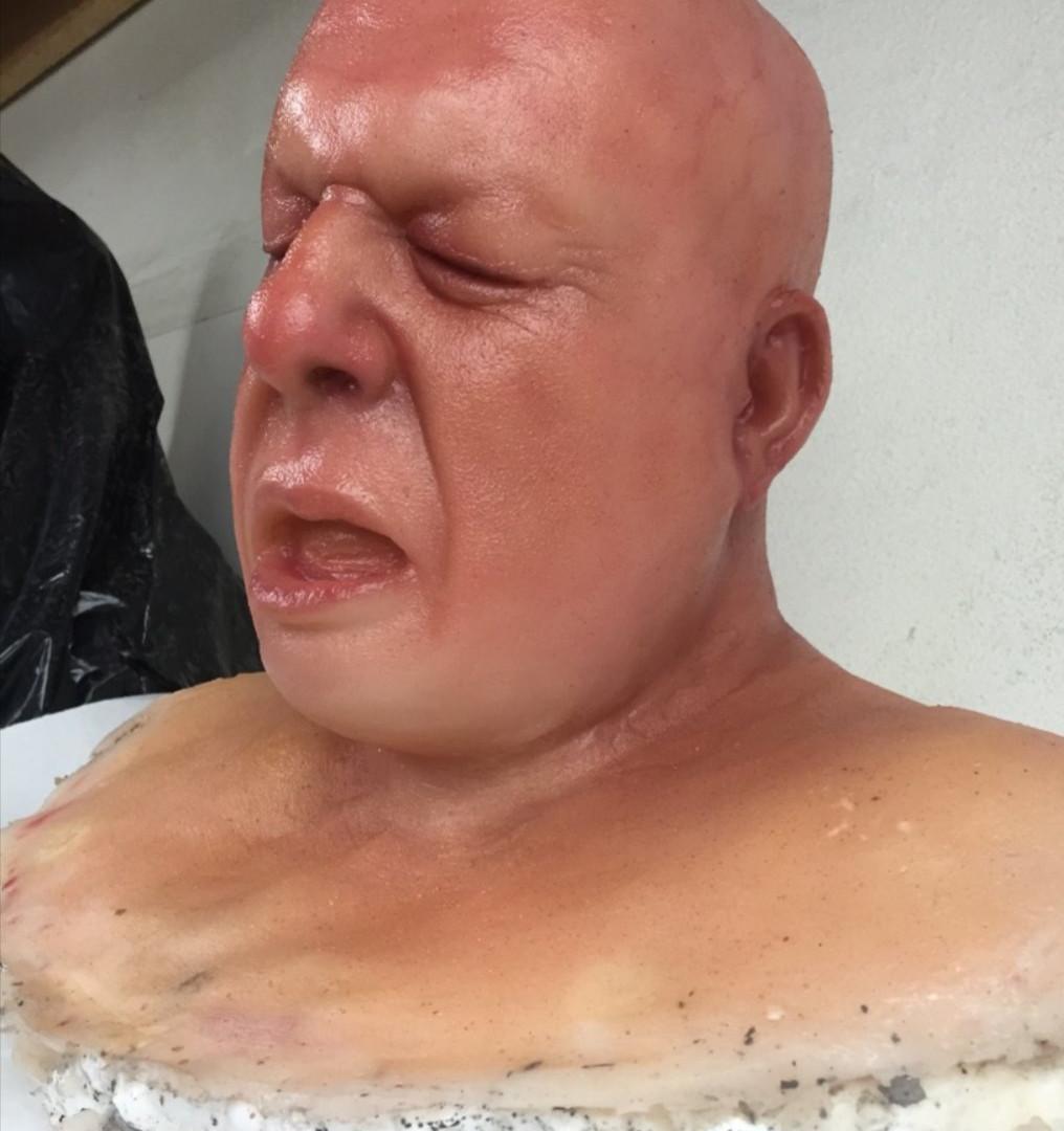 fake head paint