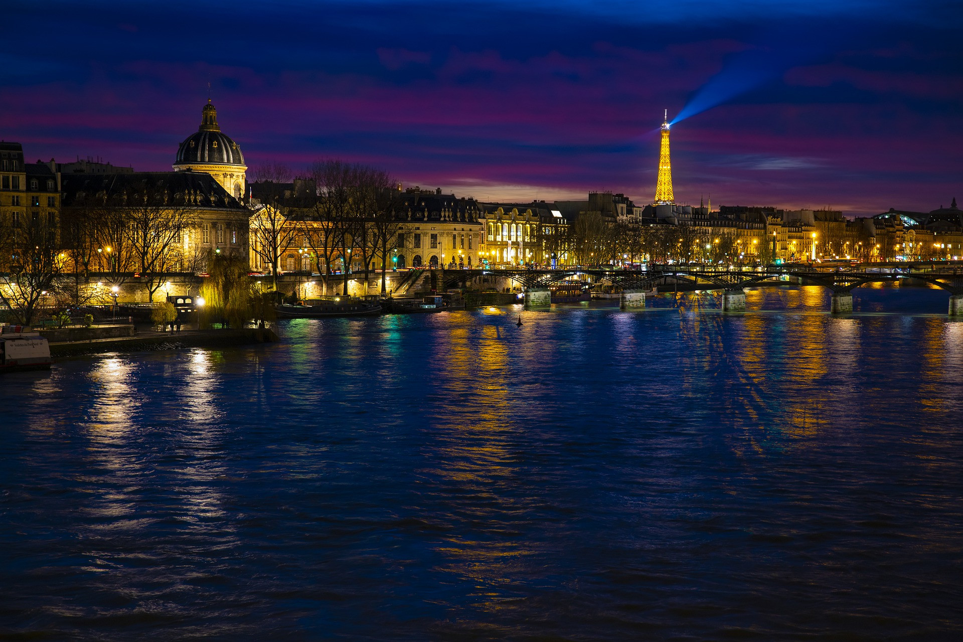 Paris, France (Day & Night)