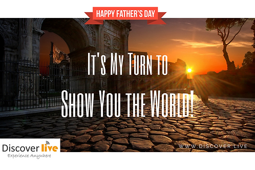 Father's Day Gift Certificate - World Tour