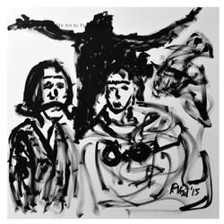 Dali Frida and Jesus