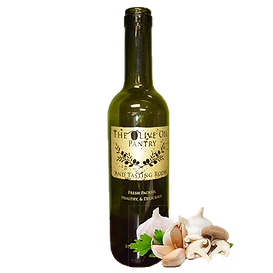Garlic Mushroom Infused Olive Oil