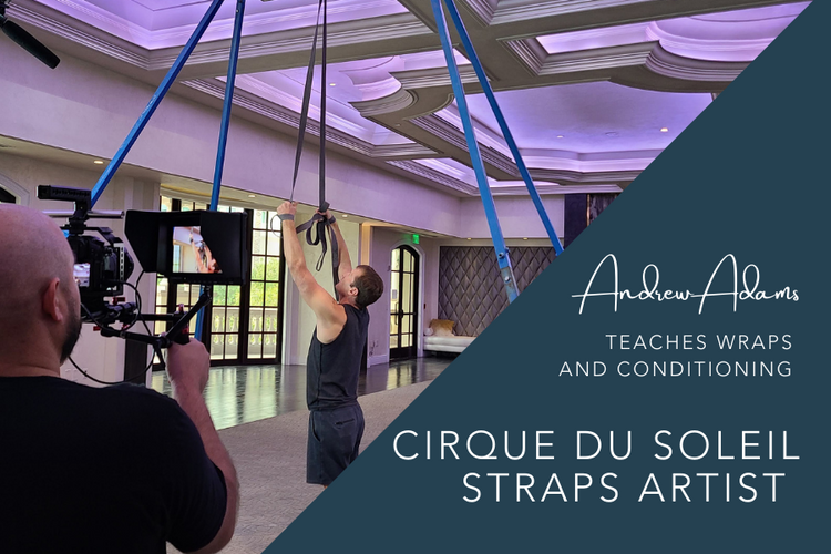 aerial straps conditioning and technique