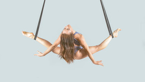 Aerial Straps Queen of Kooza shares how she landed her dream job
