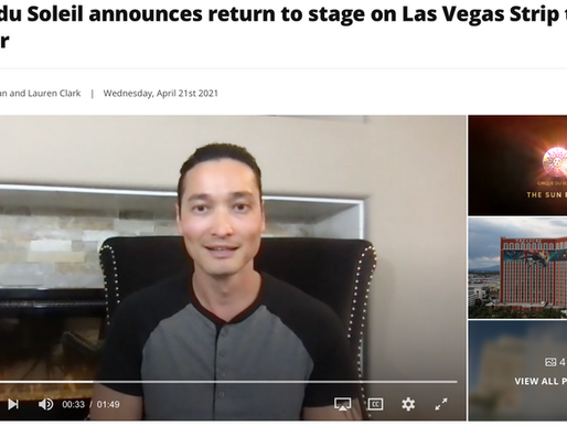 Almas Talks to News 3 About Re-opening of Major Vegas Productions