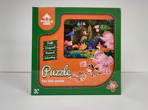 Fox Tells Stories Puzzle
