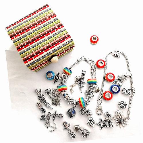 Charm Bracelet Making Kit, Jewelry