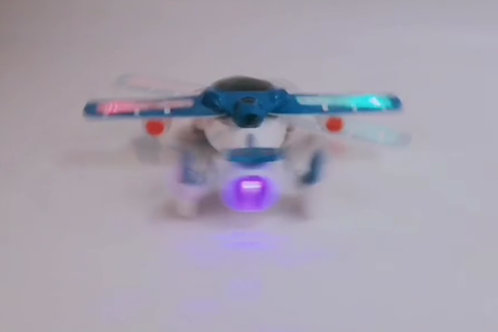 High Action Airplane Toy with Lights & Musical Sound