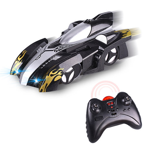 Wall Climbing Car With LED Toy Remote Control Racing Car Wall Car
